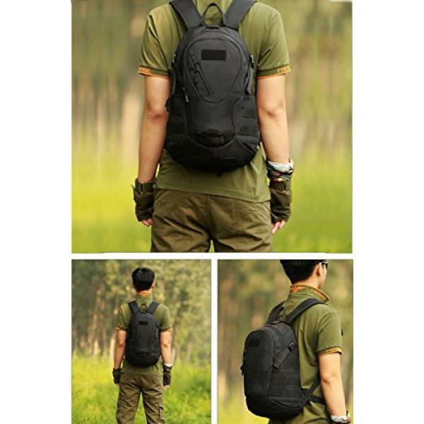 CREATOR Tactical Backpack 7 CREATOR 20L Tactical Backpack Travel Daypack Outdoor Military Rucksack MOLLE for Men
