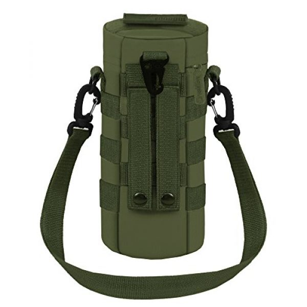 East West U.S.A Tactical Backpack 3 East West U.S.A RT521 Tactical Water Bottle Pouch Military Molle Pack Gear Waist Back Pack