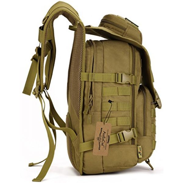 ArcEnCiel Tactical Backpack 2 ArcEnCiel Tactical Backpack Military Army 3 Day Assault Pack - Rain Cover Included