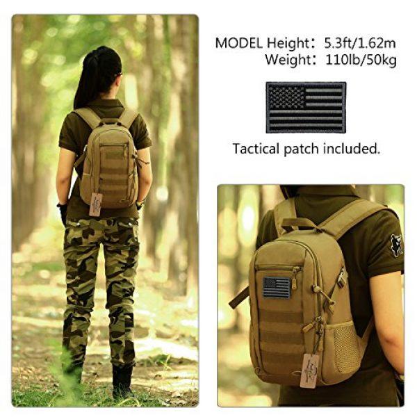 ArcEnCiel Tactical Backpack 2 ArcEnCiel Small Tactical Backpack Military MOLLE Daypack Gear Assault Pack School Camping Bag