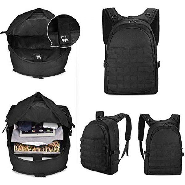 Huntvp Tactical Backpack 4 Huntvp PUBG Backpack Tactical Backpack Laptop Military College Bag Level 3
