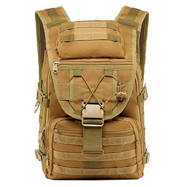 T1FE 1SFE Tactical Backpack 2 T1FE 1SFE Military Tactical Backpack, Tactical Bag, Assault Pack- Molle Bug Out Bag Large