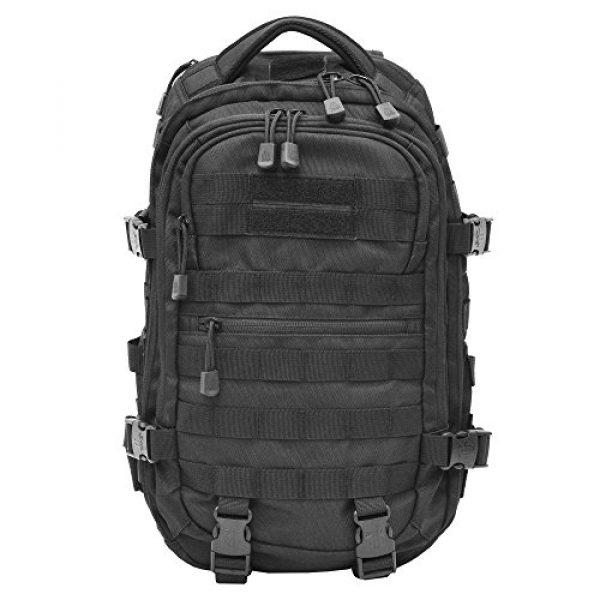 UTG Tactical Backpack 1 UTG Ambi 24/7 Cross Body Shoulder Vital Sling Pack, Black