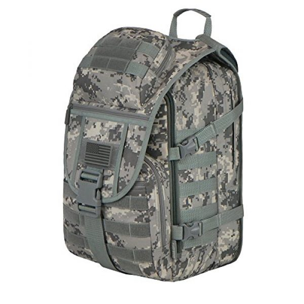 East West U.S.A Tactical Backpack 2 East West U.S.A RTC504 Tactical Molle Military Assault Rucksacks Backpack
