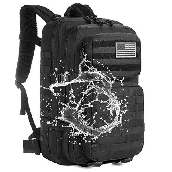 AXEN Tactical Backpack 7 AXEN Military Tactical Backpack Large 3 Day Assault Pack Army Molle Bug Out Bag Backpacks