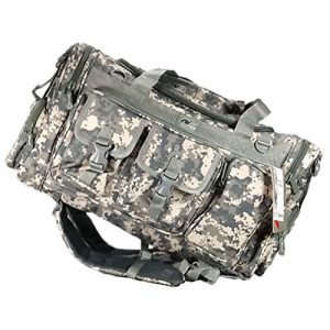 Nexpak Tactical Backpack 1 Nexpak Tactical Range Duffel and Backpack Convertible Molle Military Shoulder Strap