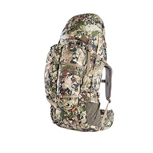 SITKA Gear Tactical Backpack 2 Sitka Mountain Hauler 4000 Framed Expandable Hunting Pack
