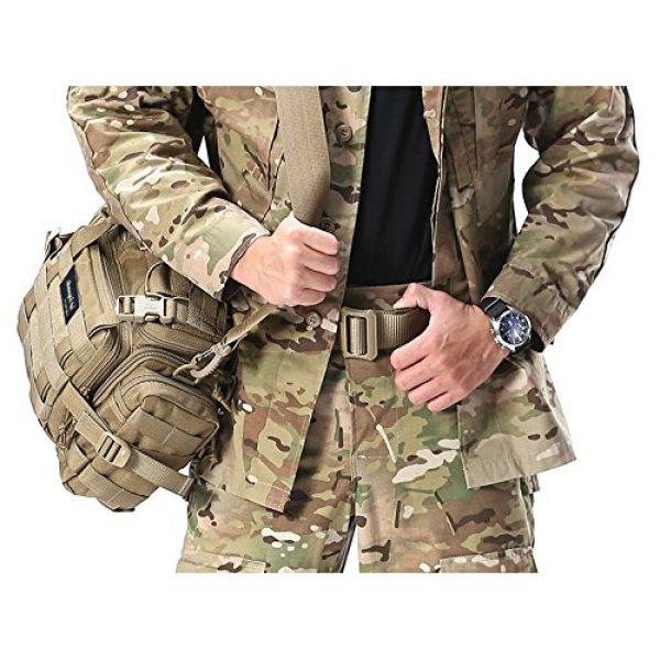 SHANGRI-LA Tactical Backpack 6 SHANGRI-LA Tactical Range Bag Outdoor Sling Backpack Hiking Fanny Waist Pack