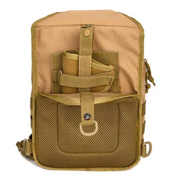 BOW-TAC Tactical Backpack 4 Tactical Sling Bag Pack Small Military Sling Backpack Assault Range Bag