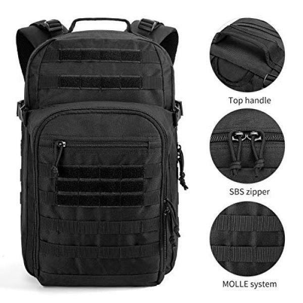 Gelindo Tactical Backpack 4 Gelindo Military Tactical Backpack Large 3 Day Assault Pack Molle Amry Bag Bug-out Rucksack Backpacks Survival Functional Daypack for Outdoor Hiking Camping Hunting Trekking Schooling for Men 42L