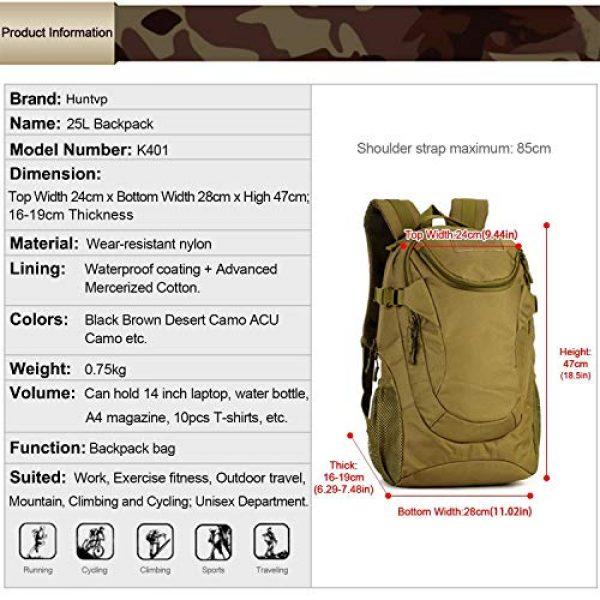Huntvp Tactical Backpack 2 Huntvp 25L Tactical Backpack Rucksack WR Tactical Assault Pack Military Bag