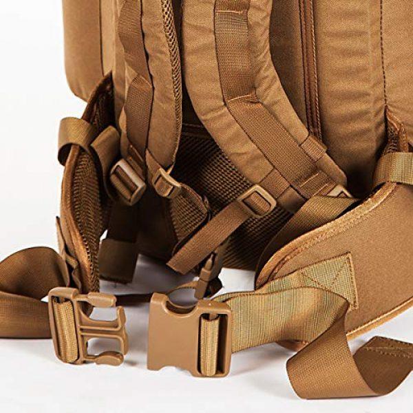 Snugpak Tactical Backpack 4 Snugpak Sleeka Force Backpack, Daypack with 2 Side Compartments, 35 Liter