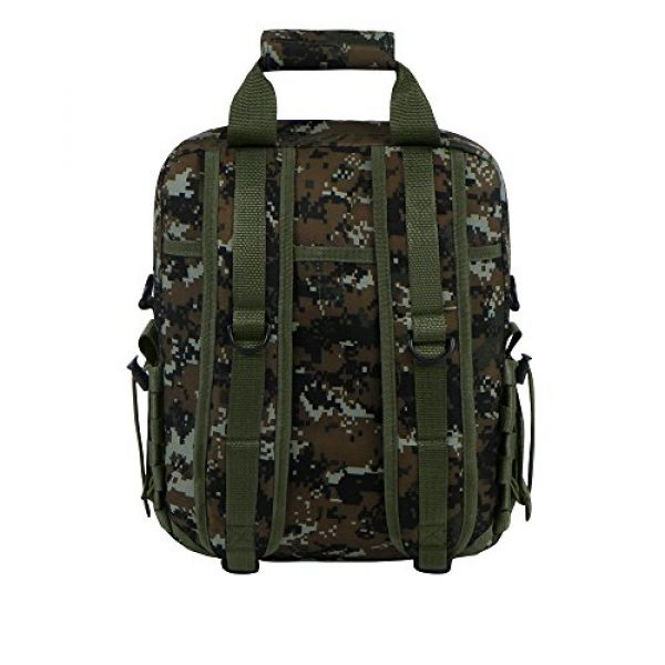 East West U.S.A Tactical Backpack 3 East West U.S.A RTC510 Tactical Molle Camouflage Laptop Sling Bag