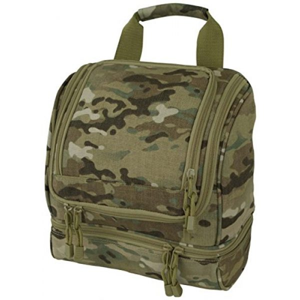 Code Alpha Tactical Backpack 1 Code Alpha Tactical Gear Toiletry Kit, Multicam, 10in.x10in.x5in.