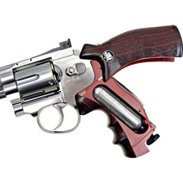 WG Airsoft Pistol 6 WG co2 powered air soft gun full metal revolver airsoft pistol gun 380 fps new(Airsoft Gun)