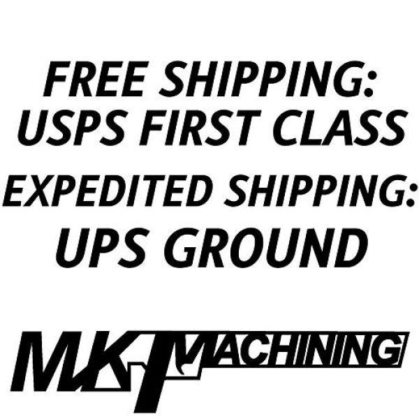 MK Machining Rifle Scope Accessory 7 MK Machining Throw Levers Compatible for Leupold Optics