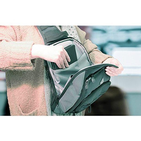UTG Tactical Backpack 4 UTG Vital Chest Pack/Shoulder Sling Bag,Black/Gun Metal