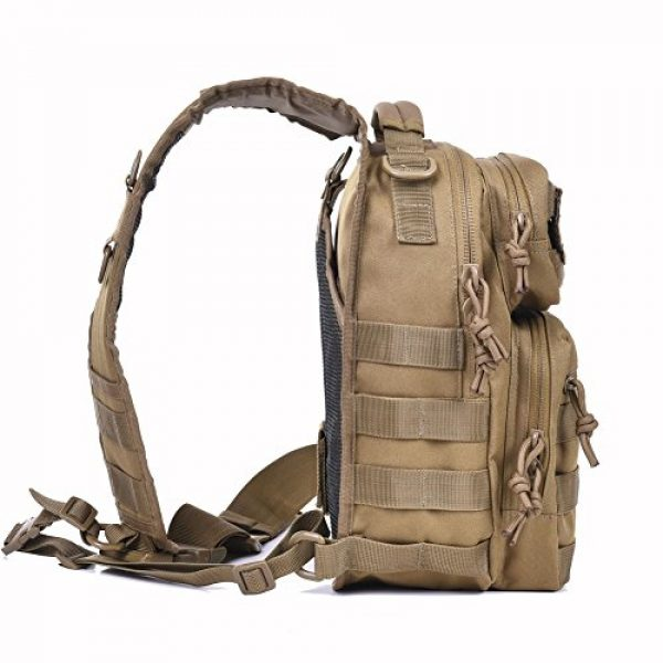 REEBOW GEAR Tactical Backpack 5 Tactical Sling Bag Military Sling Backpack Pack Small Range Bags