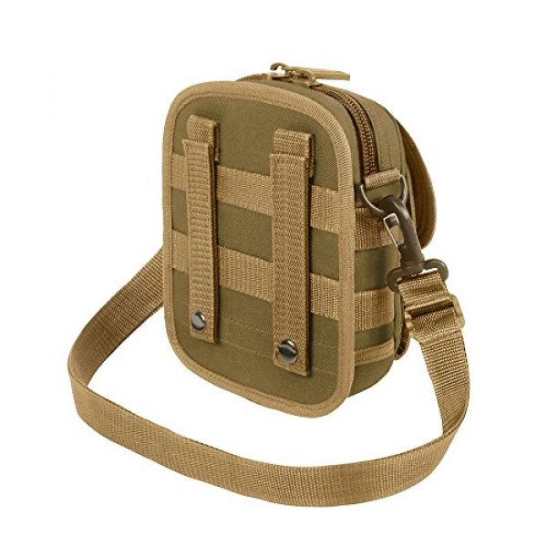 East West U.S.A Tactical Backpack 4 East West U.S.A RT520 Tactical Molle Pouch Waist Belt Utility Gadget Bag