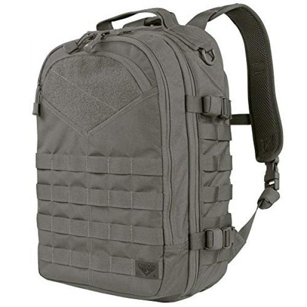 Condor Tactical Backpack 1 Condor Elite #111074 Frontier Outdoor Pack - Graphite