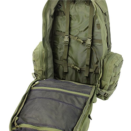 Condor Tactical Backpack 5 Condor Outdoor Products 3 Day Assault Pack, Coyote Brown