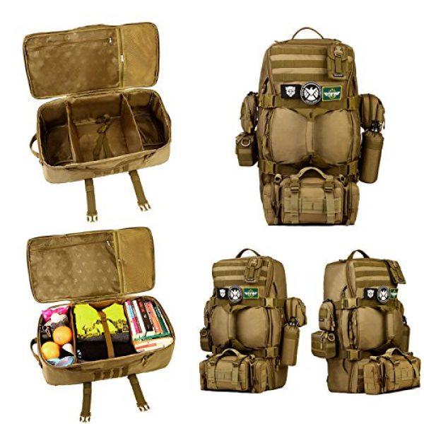 Huntvp Tactical Backpack 6 Huntvp 60L Tactical Military Backpack Gear Sport Outdoor Assault Pack Rucksack Bag For Hunting Camping Trekking Travel