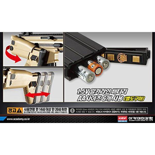 K-Crew Airsoft Rifle 4 K-Crew Academy FN Scar-L CQC Automatic Electric Gun BB Gun #17410