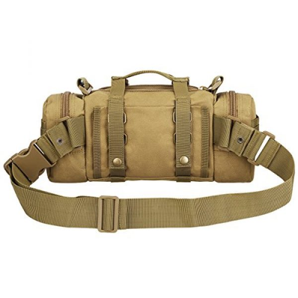 G4Free Tactical Backpack 4 G4Free Fanny Deployment Bag Tactical Waist Pack Small Sling Pack Hand Carry Bag Handlebar Bag