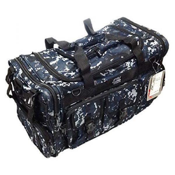 "Nexpak Tactical Backpack 2 Nexpak 26"" 3800cu.in Tactical Duffel Range Backpack TFBP126 DMBK (Navy Blue) Digital Camouflage"