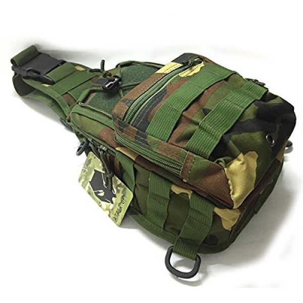 ATAIRSOFT Tactical Backpack 1 ATAIRSOFT Multi Colors Outdoor Tactical MOLLE Sling Pack Chest Pack