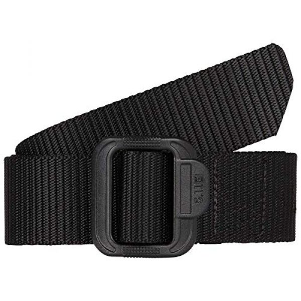 5.11 Tactical Backpack 6 5.11 Tactical Basic Patrol Bag 37 Liters, Adjustable/Removable Shoulder Strap, Style 56523 & Men's 1.5-Inch Convertible TDU Belt, Nylon Webbing, Fade-and Fray-Resistant, Style 59551 Black, X-Large