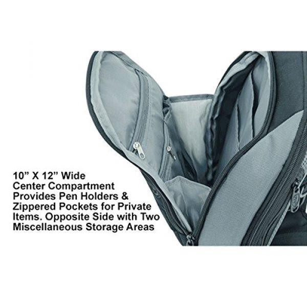 UTG Tactical Backpack 7 UTG Vital Chest Pack/Shoulder Sling Bag,Black/Gun Metal
