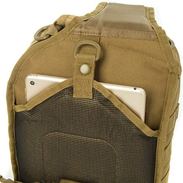 AXEN Tactical Backpack 6 AXEN Tactical Sling Bag Pack Military Rover Shoulder Sling Backpack Small