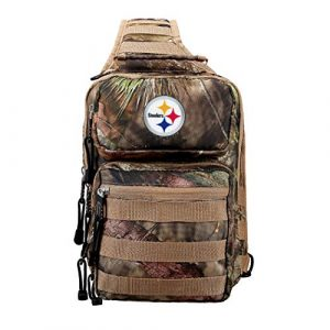 """The Northwest Company Tactical Backpack 1 Officially Licensed NFL Flyover Tactical Slingpack, 12"""", Mossy Oak"""