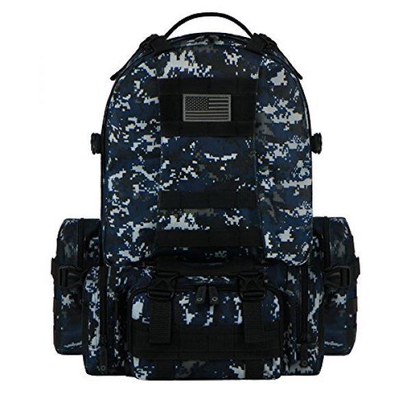 East West U.S.A Tactical Backpack 1 East West U.S.A RTC505 Tactical Molle Military Rucksacks Assault Combat Trekking Bag