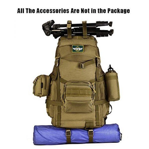Huntvp Tactical Backpack 7 Huntvp 55L Tactical Military MOLLE Backpack Rucksack