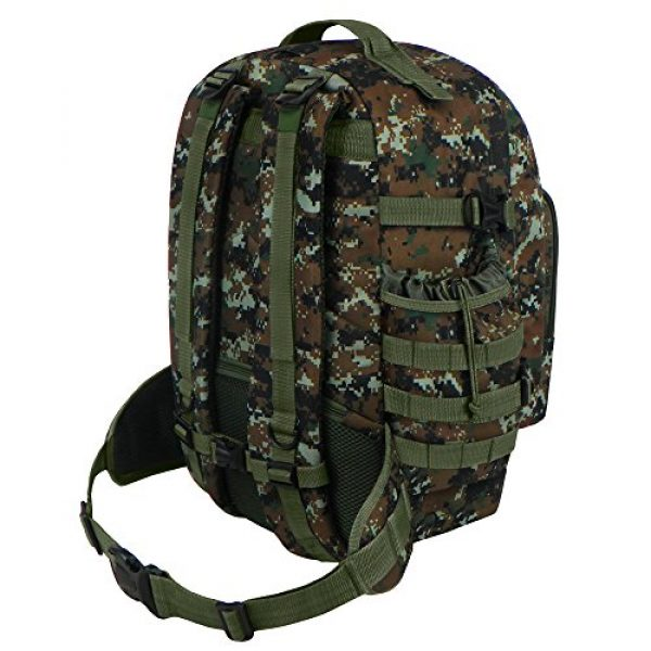East West U.S.A Tactical Backpack 4 East West U.S.A RTC524 Tactical Multi-Use Molle Assault Military Rucksacks Backpack