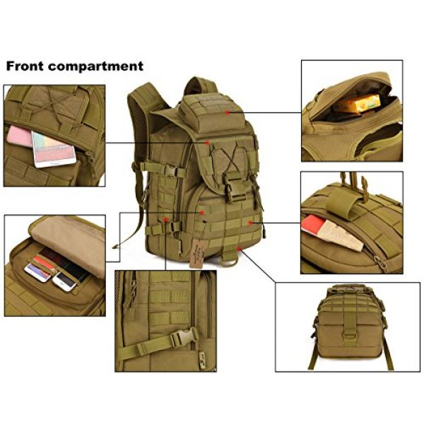 ArcEnCiel Tactical Backpack 3 ArcEnCiel Tactical Backpack Military Army 3 Day Assault Pack - Rain Cover Included