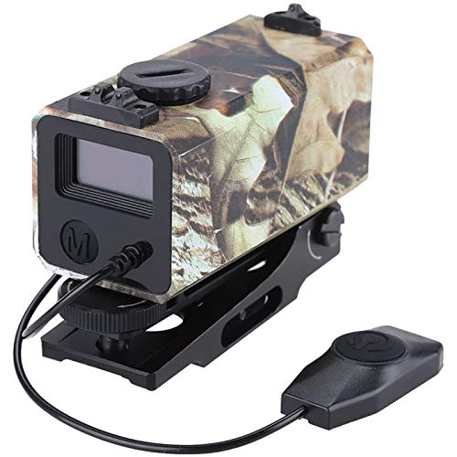 TTHU Rifle Scope 1 Tactical Outdoor Hunting Rangefinder Rifle Scope Sight Target Riflescope Mate Distance Meter 700M with Rail