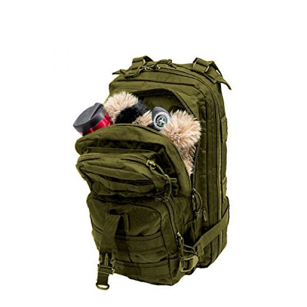 World Famous Sports Tactical Backpack 5 World Famous Sports Tactical Transport Backpack