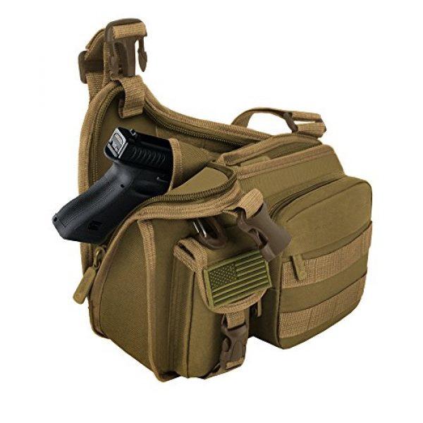East West U.S.A Tactical Backpack 3 East West U.S.A RT518 Tactical Shoulder Sling Gun Range Holsters Cases Utility Bag