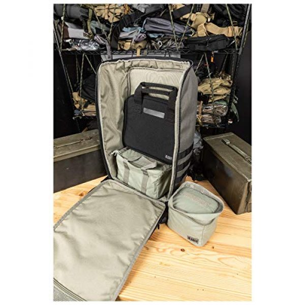 5.11 Tactical Backpack 4 5.11 Tactical Range Master Firearm & Shooting Gear Backpack 4-Piece Set, 33L, Style 56496