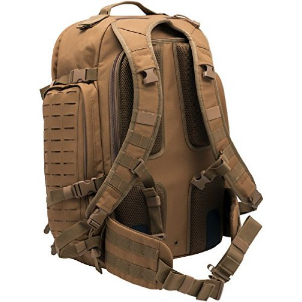 LA Police Gear Tactical Backpack 2 LA Police Gear Atlas 72H MOLLE Tactical Backpack for Hiking, Rucksack, Bug Out, or Hunting