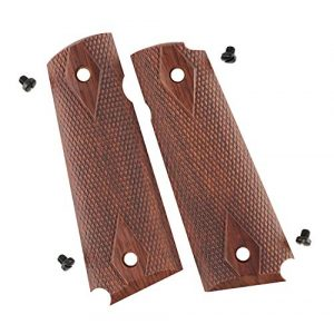 Elite Force Airsoft Pistol Grips for 1911 1 Elite Force 1911 Tac Grips - Brown, Multi (2211170), One Size