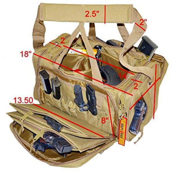 Explorer Tactical Backpack 5 Explorer Tactical Range Ready Bag 18-Inch Woodland Digital