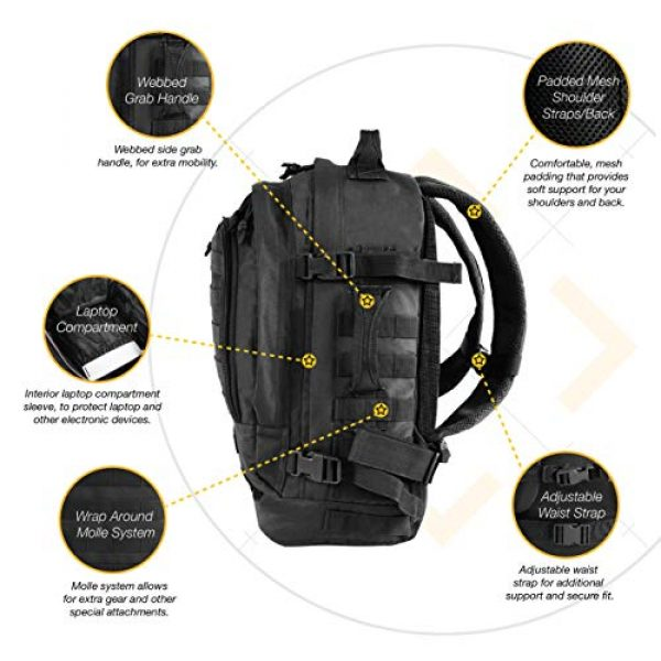 HIGHLAND TACTICAL Tactical Backpack 6 HIGHLAND TACTICAL Rumble