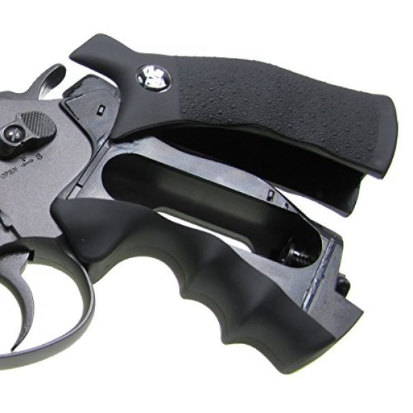 TSD Tactical Airsoft Pistol 5 TSD tactical - sdcnr708bb - tsd/wg model 708 co2 gas black revolver(Airsoft Gun)