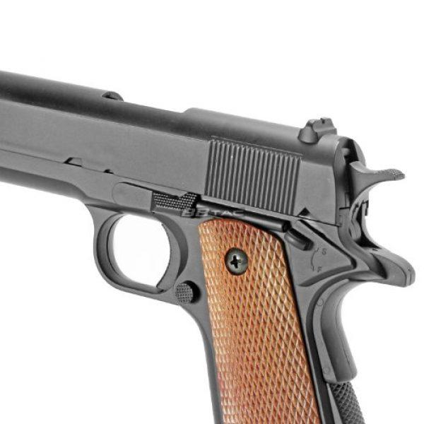 BBTac Airsoft Pistol 3 bbtac m21 airsoft 260 fps metal spring pistol with working hammer and saftey grip(Airsoft Gun)