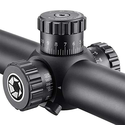 BARSKA Rifle Scope 3 Barska Level Rifle Scope with FMC Lens and Illuminated Mil-Dot Reticle, 30mm Tube