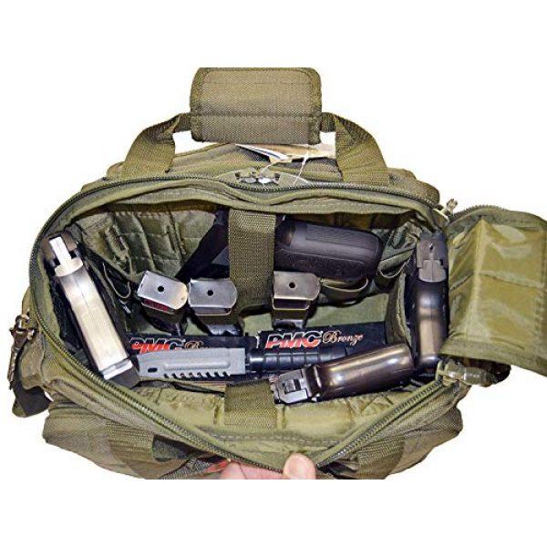 Explorer Tactical Backpack 7 Explorer Tactical 12 Pistol Padded Gun and Gear Bag OD Green